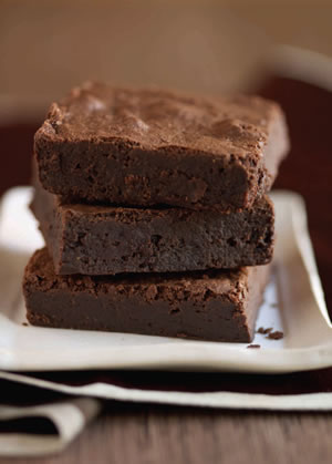sweetheart dark chocolate brownies