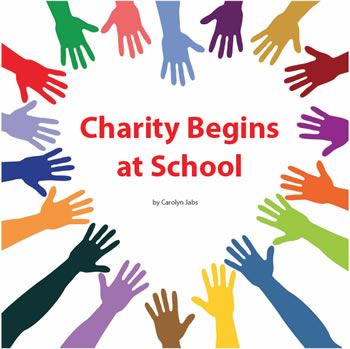 Charity Begins at School